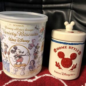 ディズニーシー ミッキーマウス 陶器のキャニスター