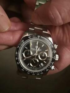 【送料無料】パガーニデザイン メンズ腕時計 トップブランド 高級ビジネス サファイア ステンレス鋼 防水 スポーツクロノグラフ ウォッチ