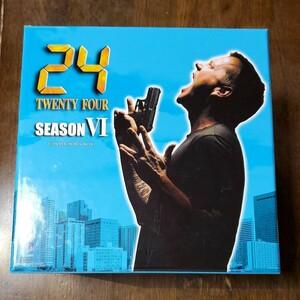 中古美品『24 -TWENTY FOUR-Ⅵ』DVD-BOX 13枚セット