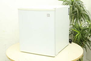 Sun Ruck サンルック 電子冷蔵庫 48L 1ドア冷蔵庫 SR-R4802 ベルチェ式 ミニ 17年製 小型 ワンドア 冷蔵庫 ①