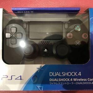 未開封 PS4 ソニー SONY 純正 ワイヤレスコントローラー DUALSHOCK 4 ジェット・ブラック CUH-ZCT2J