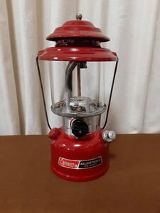 【希少・良品】赤色 コールマン286 ワンマントルランタン 88年12月製 21062420