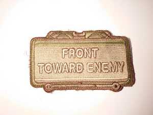 パッチ MSM ミルスペックモンキー FRONT TOWERD ENEMY ワッペン lbt eagle Crye 緑 イーグル タクトレ 特殊部隊 swat 航空自衛隊 HK416 M4