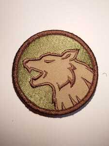 パッチ MSM ミルスペックモンキー Wolf Head ワッペン lbt eagle Crye イーグル タクトレ 特殊部隊 swat 緑 航空自衛隊