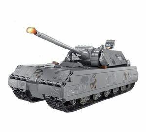 LEGO互換 マウス ドイツ軍 戦車 レゴ アーミー