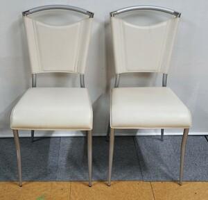 AR4855◆モデルR展示品◆椅子 2脚セット◆W410 H900 D450◆