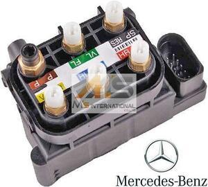 【M's】ベンツ AMG W222 W221 W217 Sクラス・W216 CLクラス 純正品 エアサスコントロール バルブブロック//正規品 エアサス 212-320-0358