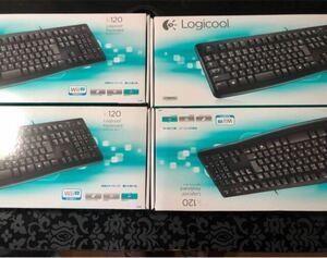有線キーボード ロジクール Logicool K120 まとめて
