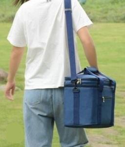 ソフトクーラーバッグ 保冷バッグ クーラーボックス 2段 ランチボックス ピクニック バーベキュー