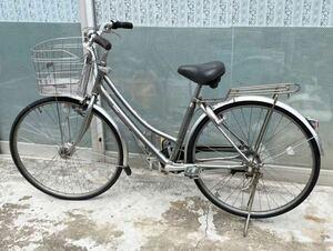MIYATA ミヤタ アルモードベルト 27 3段シフト.ベルト DAM73LB1 LEDオートライト 1本鍵あり 通学、通勤自転車
