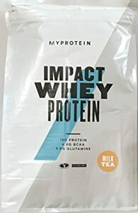 MyProtein マイプロテイン Impact ホエイプロテイン 2.5kg (限定フレーバー) ミルクティー