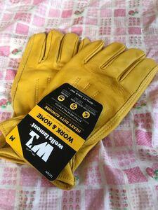 ウェルズラモント レザーグローブ グローブ 革手袋 作業用 バイクツーリング ウェルズ ラモント