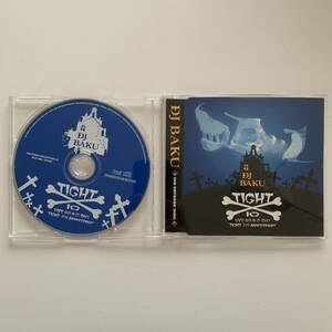 DJ BAKU / TIGHT 10 MIX CD KAIKOO tha blue herb 漢 MSC yas kemuri 美品