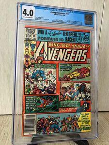 超珍品 AVENGERS annual #10 X-men Rogue 初登場 ローグ エックスメン アメコミ マーベル ロキ Loki CGC MCU アベンジャーズ リーフ