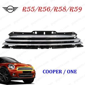 ● MINI クーパー / ワン R55 R56 R58 R59 2010~2015 フロント グリル クローム メッキ 黒 ZF16 SR16 ZN16 SX16 SY16 ラジエーター ミニ