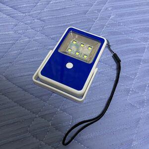 ソーラー充電式LEDライト ジェイムス 非売品
