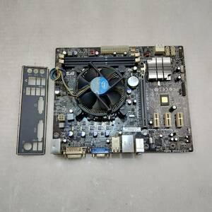 【中古パーツ】BIOS確認のみ、H61H2-M2 V:1.0 マザーボード LGA1155 ■MB536