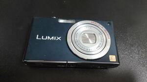 Panasonic LUMIX ルミックス DMC-FX33-A コスモブルー デジカメ デジタルカメラ