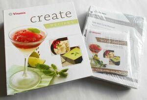 未開封DVD付/レシピ本 英語版洋書 バイタミックス「クリエイト」レシピブック シェフ:スティーブ・シモラーによる解説DVD付Vitamix正規品