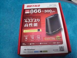BUFFALO コンパクト無線親機 WCR-1166DS 送料無料