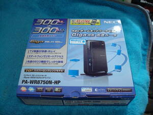 NEC 300Mbps+300Mbos 無線ルーター Aterm WR8750N-HP PA-WR8750N-HP 美品 送料無料