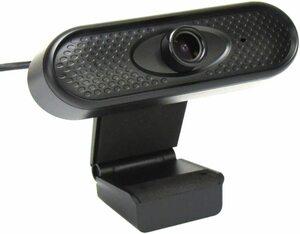 Webカメラ PCカメラ フルHD1080P ノイズキャンセリング機能 マイク内蔵 30fps【箱無し】