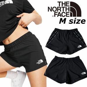 ノースフェイス ショートパンツ ボトムス ブラック NF0A556B レディース フィットネス Mサイズ THE NORTH FACE WOMEN'S MA SHORT 新品