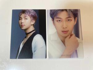 BTS ベストアルバム トレカ クリアフォトカード RM ナムジュン