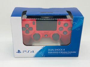 DUALSHOCK4 ワイヤレスコントローラー レッド PS4