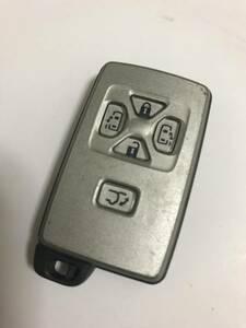 トヨタ TOYOTA 純正 アルファード/ヴェルファイア 5B 両側パワースライド パワーバックドア付き スマートキー キーレス リモコン 210123