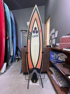 希少ALMERRICKサーフボード ROB MACHADO SURF BOARD