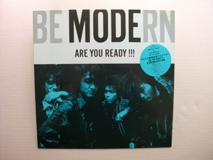 *【LP】BE MODERN/ARE YOU READY!!!(15・3H-5016)(日本盤)