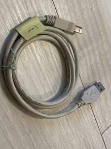 送料込 中古 USB2.0ケーブル タイプAオス - タイプBオス 1m 灰色 その5
