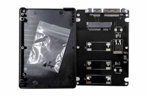 送料187円! mSATA(Mini SATA)50mm→2.5インチSATA3 7mm厚 SSD変換