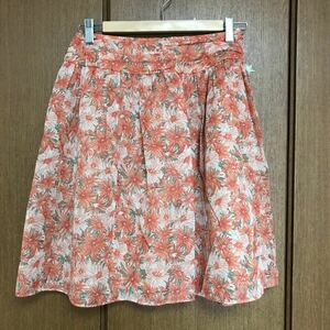 花柄 スカート テチチ シフォンスカート 花柄スカート
