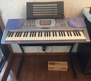 CASIO LK-250IT カシオ 鍵盤 光ナビゲーション キーボード 電子ピアノ HIKARI