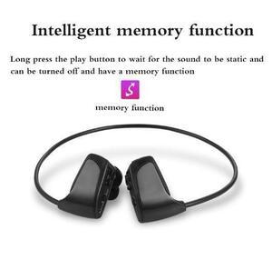 ※お得※ MP3プレーヤー イヤホン 一体型 デジタルオーディオプレーヤー 耳フック 高音質 8GB ブラック