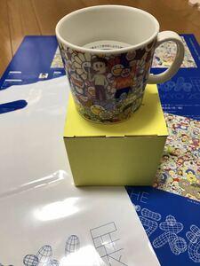 ドラえもん展 村上隆 TOKYO 会場限定 マグカップ Takashi MURAKAMI お花 フラワー おまけ付き