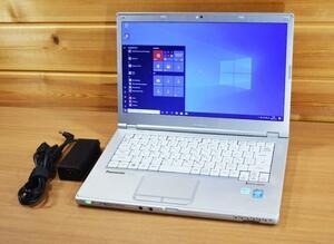 激安!中古【外観訳あり品】 Panasonic CF-LX3 Corei5-4300・HDD320GB・カメラ付き・Bluetooth・WIFI・Microsoft office2019認証後付き