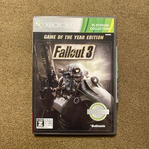 【Xbox360】 Fallout 3 [Game of the Year Edition プラチナコレクション]