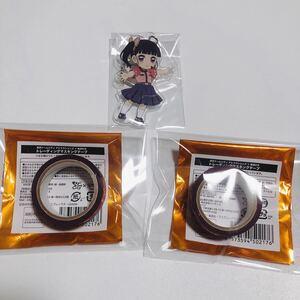 鬼滅の刃 カナヲ 東京ドームシティ マスキングテープ ufotable アクリルキーホルダー 縁日 カフェ ダイニング