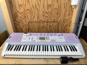 CASIO カシオ■光ナビゲーションキーボード LUCE LK-103■ルーチェ■電子ピアノ■鍵盤楽器■Η