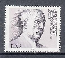 ドイツ 1990年未使用NH 著名人/政治家/労働組合長/ロイシュナー#1466