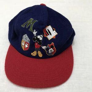 ディズニーランド キャップ 東京ディズニーランド ミッキーマウス TDR tokyo disneyland 90s 80s ヴィンテージ ビンテージ レトロ ミッキー