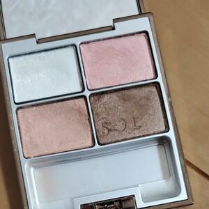LUNASOL  スキンモデリングアイズ 03  beige pink