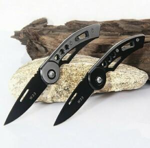 (セール)アウトドア 折り畳み式 ステンレスナイフ