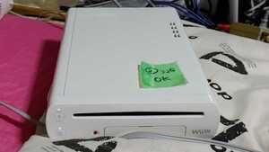 【送料無料】WiiU 本体のみ 8GB モデル WiiU 本体のみ 8GB