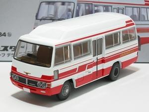◇トミカの時◇ 『コースターハイルーフデラックス車(白/赤)LV-184b』即決