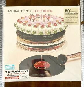未開封 ローリング・ストーンズ Rolling Stones Let It Bleed 50th Box 50周年記念 ボックス デラックス