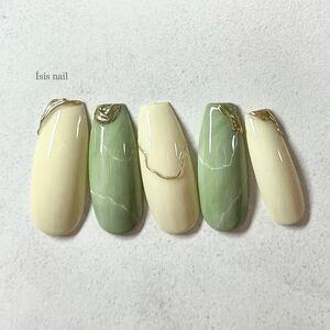 ネイルチップ 韓国 ミラー ゴールド シンプルネイル 前撮り ブライダル 成人式 ジェルネイル 韓国ネイル